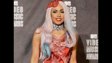 Vestido de carne de Lady Gaga será exhibido en un museo