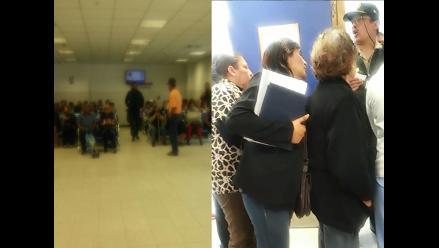 WhatsApp: pacientes esperan largas horas en hospital de Essalud