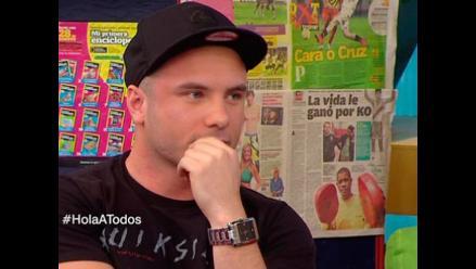 Jenko del Río aclara incidente con Paloma Fiuza en discoteca