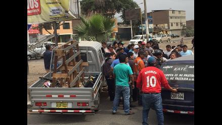 Escolar fue atropellado por camión en el distrito de Carabayllo