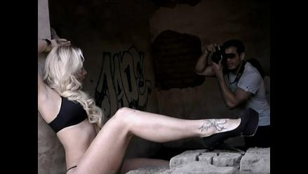 Combate: Yamila es vinculada con Ernesto tras posar semidesnuda para él