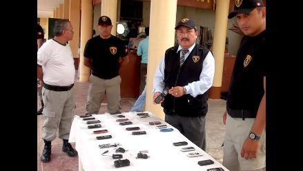 Tumbes: realizan operativo en centro penitenciario de Puerto Pizarro