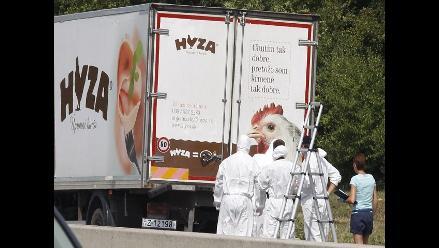 Austria: Los 71 refugiados abandonados en camión murieron asfixiados