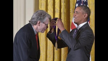 Stephen King: Escritor fue premiado por Barack Obama
