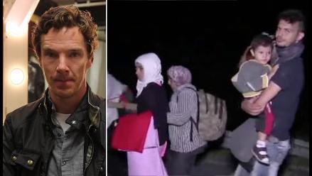 Siria: Benedict Cumberbatch se une al pedido de ayuda para refugiados