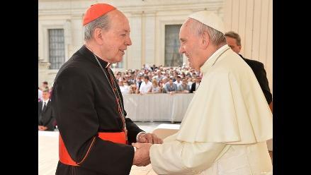 El papa Francisco envió su bendición al pueblo peruano