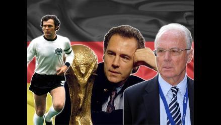Franz Beckenbauer y sus mejores momentos como jugador y entrenador