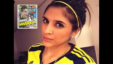 James Rodríguez: Esposa arremetió contra la prensa peruana en Instagram