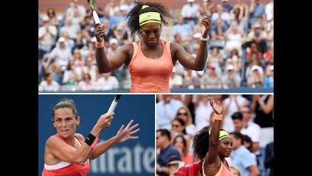US Open: Las mejores postales de la caída de Serena Williams