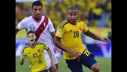 Colombia vs. Perú: el reemplazo de James Rodríguez también se lesionó