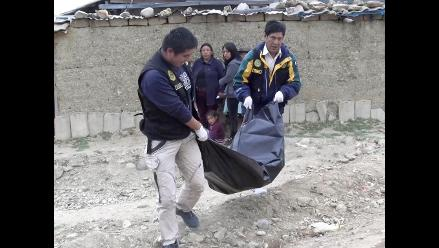 Huancayo: sexagenaria es hallada muerta en el patio de su casa