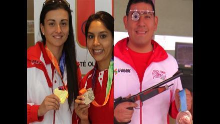 Perú obtiene medalla de plata en Sudamericano de Tiro