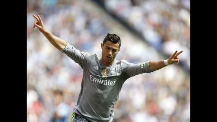 Real Madrid golea 6-0 al Espanyol con repóker de Cristiano Ronaldo
