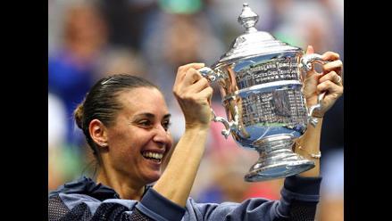 US Open: Flavia Pennetta campeona en singles y anuncia su retiro