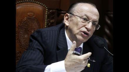 Mesías Guevara pide que CNM explique sanción menor a fiscal José Peláez