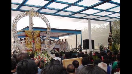 Cruz de Motupe viaja para encuentro con el Señor de Huamantanga
