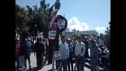 Arequipa: anuncian paro provincial de Islay en contra de Tía María