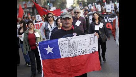 Chile: Marcha recuerda a víctimas de Pinochet tras 42 años del golpe