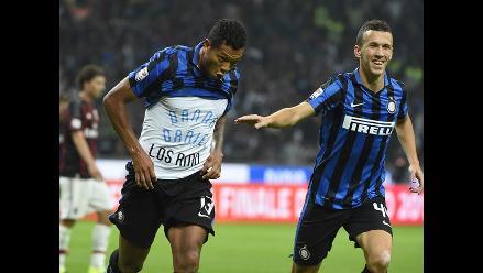 Inter vs. Milan: Freddy Guarín le da la victoria al neroazurro en el derbi