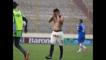Universitario apenas empató ante UTC con Roberto Chale en el banquillo