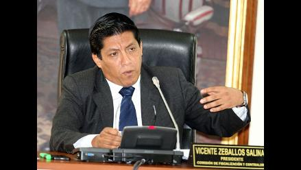 Vicente Zeballos: Comisión Orellana citará a Gerald Oropeza