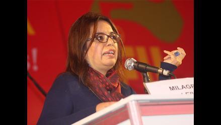 Milagros Leiva: No pediré garantías para mi vida, yo vivo en una democracia