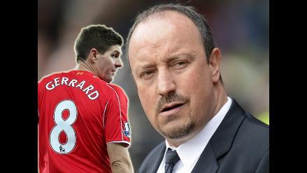 Steven Gerrard arremetió contra Rafa Benítez en su libro autobiográfico