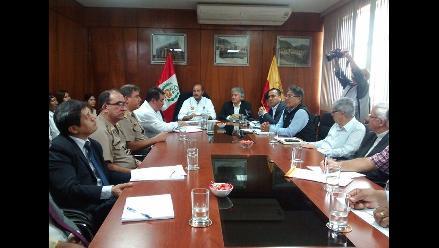 Ministro del Interior encabeza mesa de trabajo por el caso Tumán