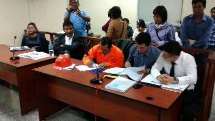 Caso Nolasco: testigos rinden su manifestación ante juzgado