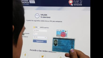 Electores de Mi Perú podrán escoger dónde votar en comicios de noviembre