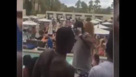 Youtube: Andre Berto hizo gran fiesta a pesar de perder con Mayweather