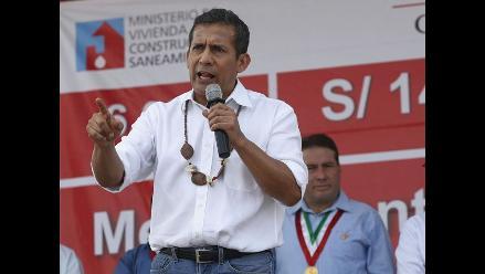 Ollanta Humala tilda de