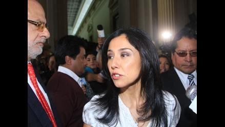 Nadine Heredia se presentó en fiscalía por caso