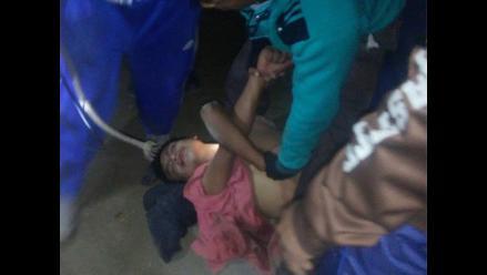 Huaura: vecinos atraparon y golpearon a presunto ladrón en Végueta