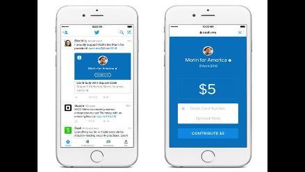 Twitter lanza herramienta para hacer donaciones electorales a través de tuits