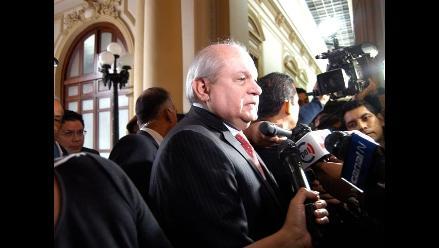 Pedro Cateriano rechazó especulaciones sobre golpe de Estado