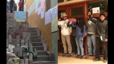 Lambayeque: estudiantes toman facultades de Universidad Pedro Ruíz