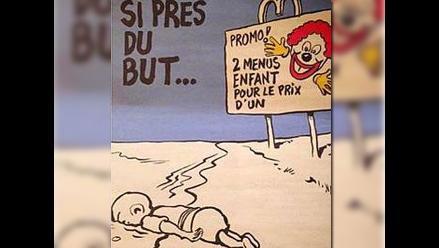 Charlie Hebdo: nueva polémica por bromas sobre el pequeño Aylan