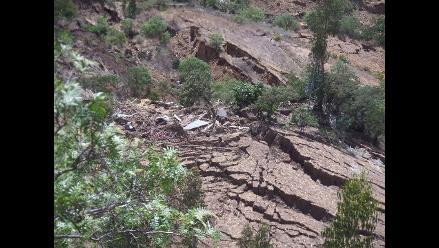 Sihuas: piden que se declare en emergencia caserío por rajaduras