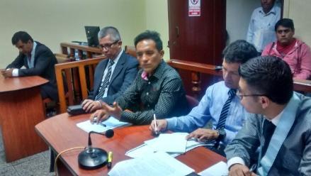 Chimbote: alcalde rindió su manifestación por crimen de Nolasco