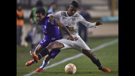 Universitario perdió 1-0 ante Defensor Sporting y quedó eliminado de la Copa Sudamericana