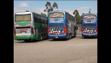 Arequipa: transportistas interprovinciales acatarán paro nacional indefinido