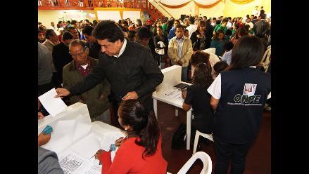 ONPE ofrece apoyo a partidos para realizar sus elecciones internas