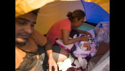 Siria: bebé conoce la guerra y el exilio con solo 5 días de vida