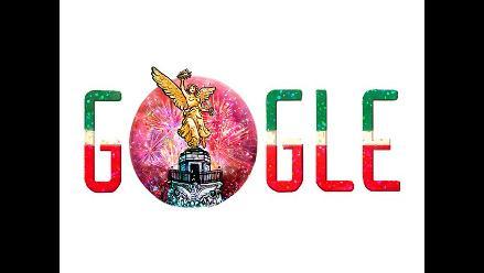 Google dedica doodle a Independencia de México