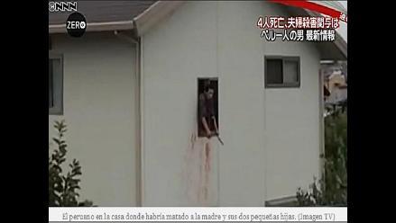 Televisión japonesa muestra hecho sangriento de supuesto peruano
