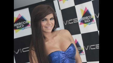 Giannina Luján ganó la medalla de oro para Perú en el Bikini Fitness 2015
