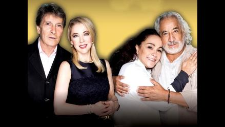 Leyendas de Televisa en Lima para obra teatral
