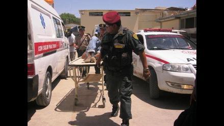Puno: un herido deja accidente vehicular en vía Puno - Moquegua