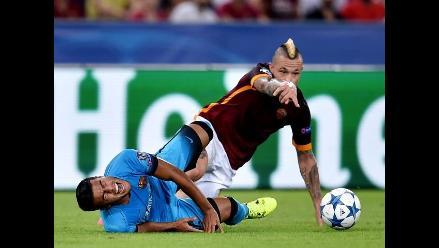 Barcelona: Se confirma grave lesión de Rafinha y se pierde la temporada
